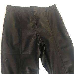 H&M vegan leather pants, NWOT